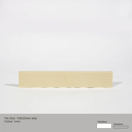 Rectangle Tile - Ivory