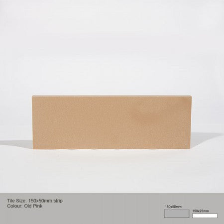 Rectangle Tile - Old Pink