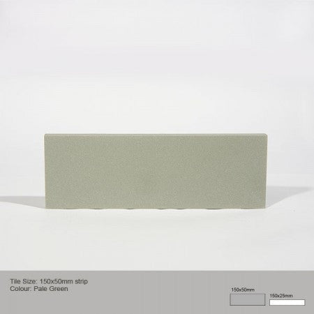 Rectangle Tile - Pale Green