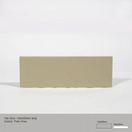 Rectangle Tile - Pale Grey