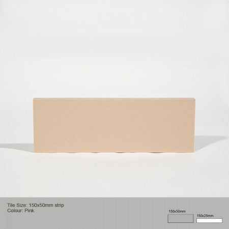 Rectangle Tile - Pink