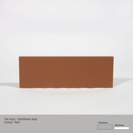 Rectangle Tile - Red