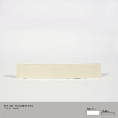 Rectangle Tile - White