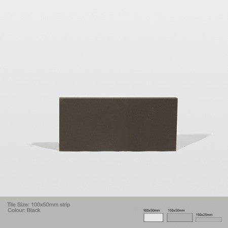 Rectangle Tile - Black