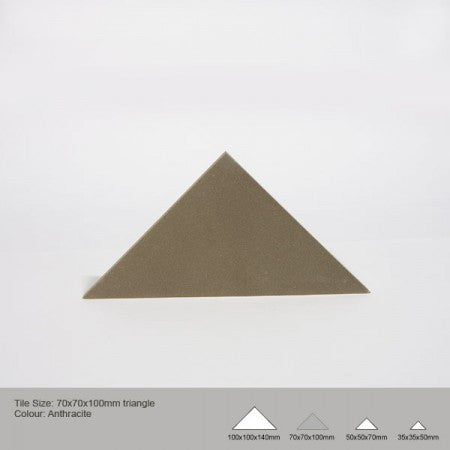 Triangle Tile - Anthracite
