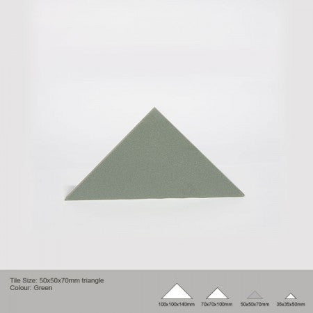 Triangle Tile - Green