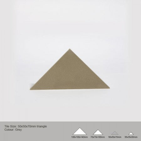 Triangle Tile - Grey
