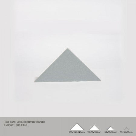 Triangle Tile - Pale Blue