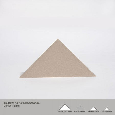 Triangle Tile - Parme