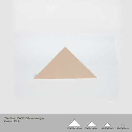 Triangle Tile - Pink