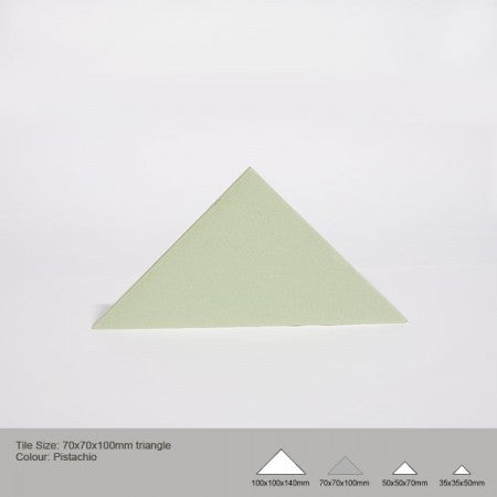 Triangle Tile - Pistachio