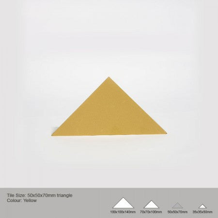 Triangle Tile - Yellow