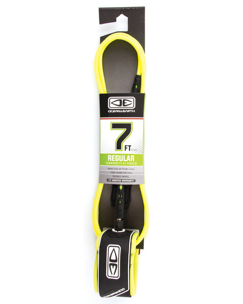 "Regular 7'0"" Moulded Leash"