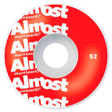 Almost - Color Logo Red