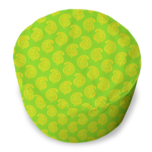 BEAN BAG - PAISLEY LIME