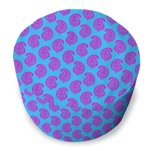 BEAN BAG - PAISLEY TURQUOISE