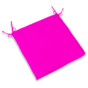 CHAIR PAD - HOT PINK