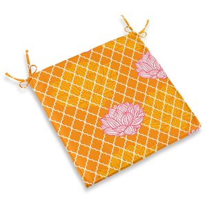 CHAIR PAD - LOTUS ORANGE