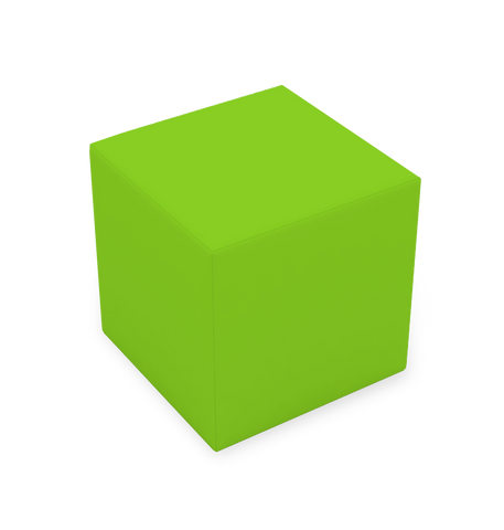 CUBE STOOL - LIME