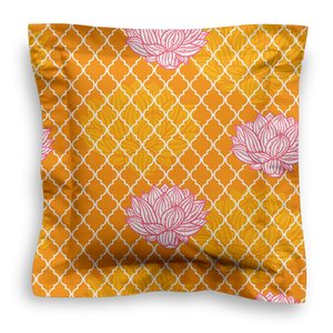SQUARE - LOTUS ORANGE