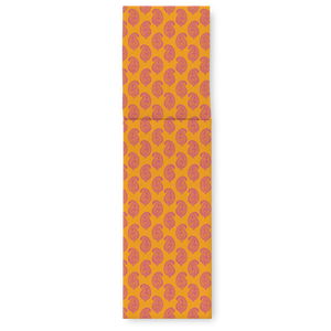 SUN LOUNGER - PAISLEY ORANGE