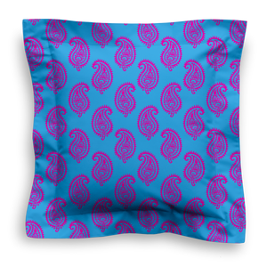 XL SQUARE - PAISLEY TURQUOISE