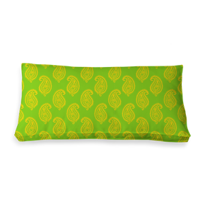 RECTANGULAR - PAISLEY LIME