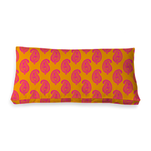 RECTANGULAR - PAISLEY ORANGE