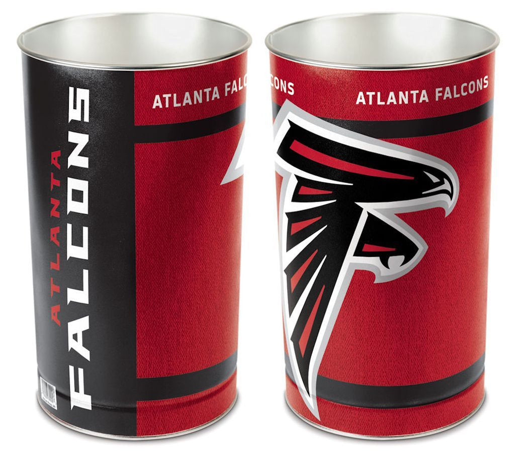 "Atlanta Falcons 15"" Waste Basket"