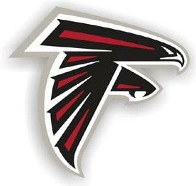 "Atlanta Falcons 12"" Right Logo Car Magnet"