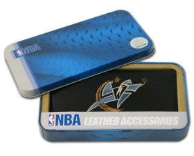 Washington Wizards Embroidered Leather Checkbook Cover