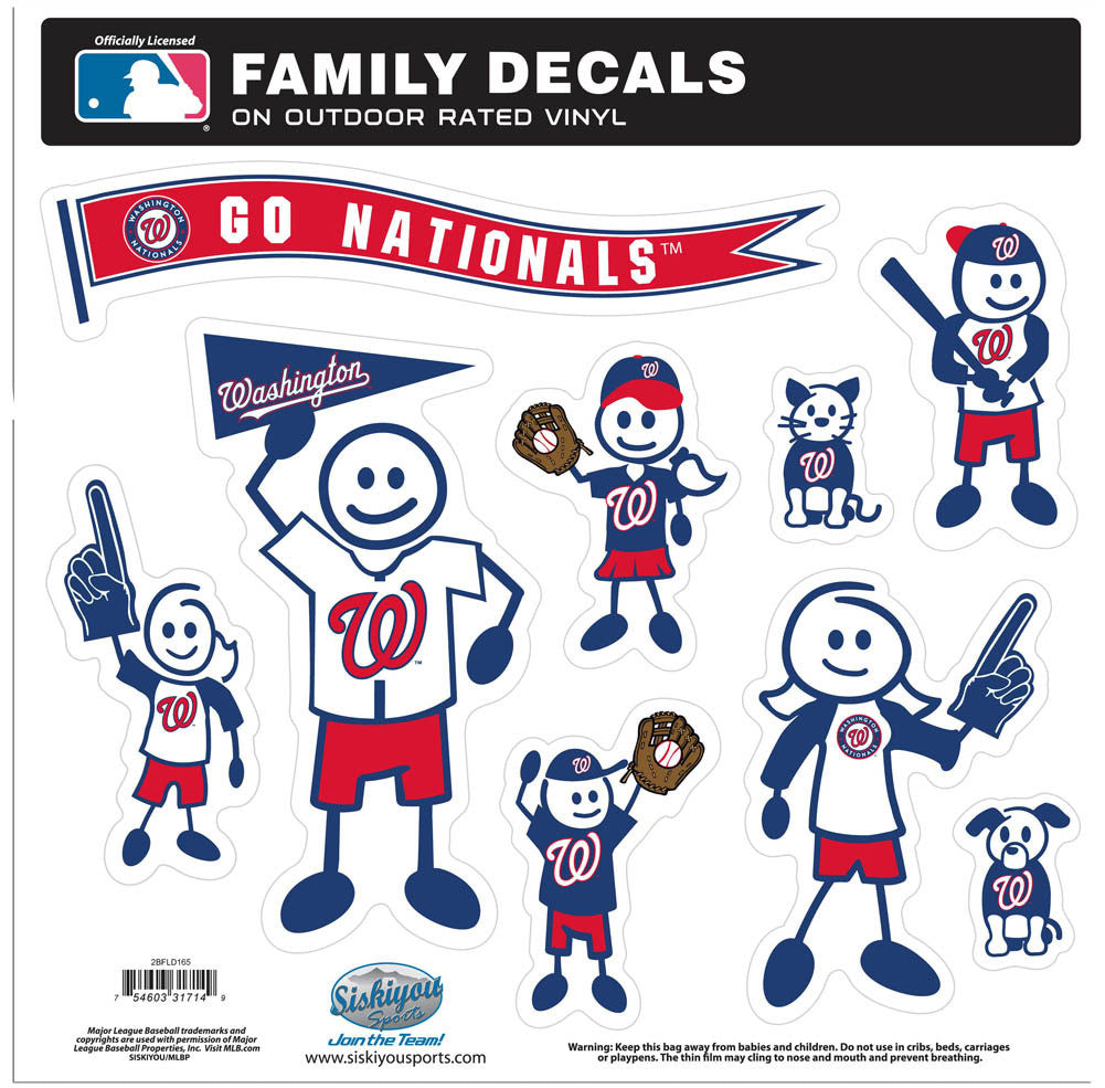 NATIONALS 2ND EDTN FAM DECAL L