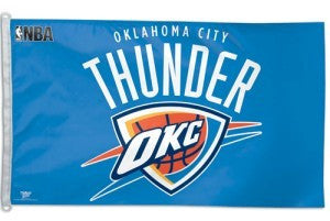 Oklahoma City Thunder 3'x5' Flag