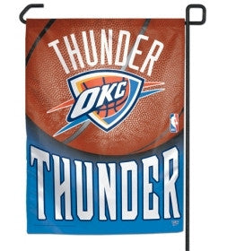 "Oklahoma City Thunder 11""x15"" Garden Flag"