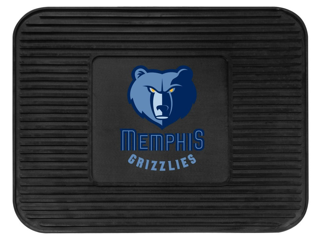 Memphis Grizzlies Heavy Duty Vinyl Rear Seat Car Utility Mat