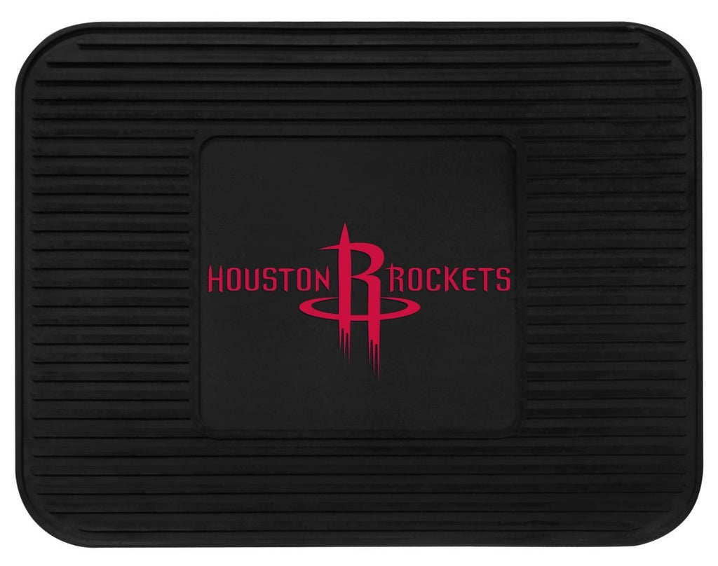 Houston Rockets Heavy Duty Vinyl Rear Seat Car Utility Mat