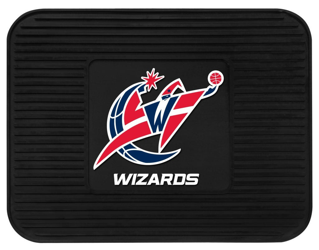 Washington Wizards Heavy Duty Vinyl Rear Seat Car Utility Mat