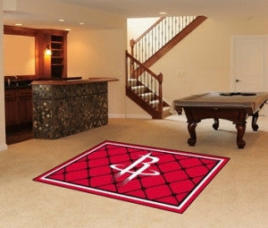 Houston Rockets Area Rug - 5'x8'