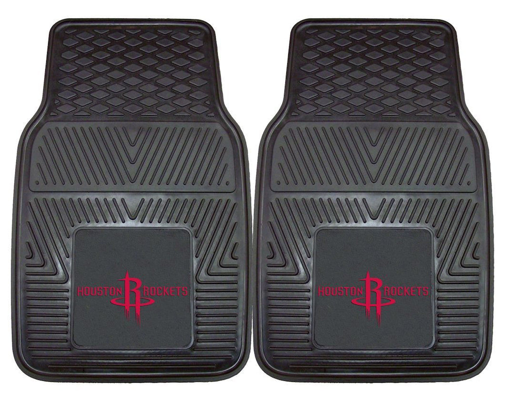 Houston Rockets Heavy Duty 2-Piece Vinyl Car Mats