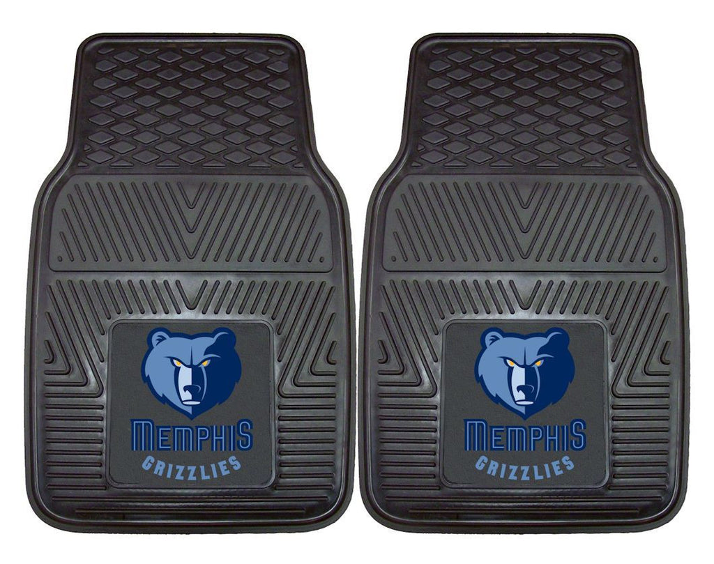 Memphis Grizzlies Heavy Duty 2-Piece Vinyl Car Mats