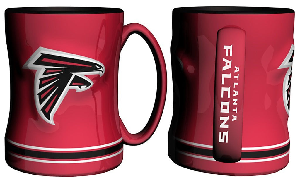 Atlanta Falcons 14oz Sculpted Relief Coffee Mug