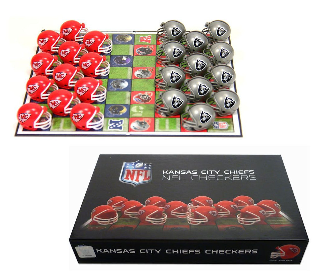 Kansas City Chiefs Checker Set