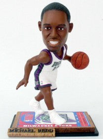 Milwaukee Bucks Michael Redd Ticket Base Forever Collectibles Bobble Head