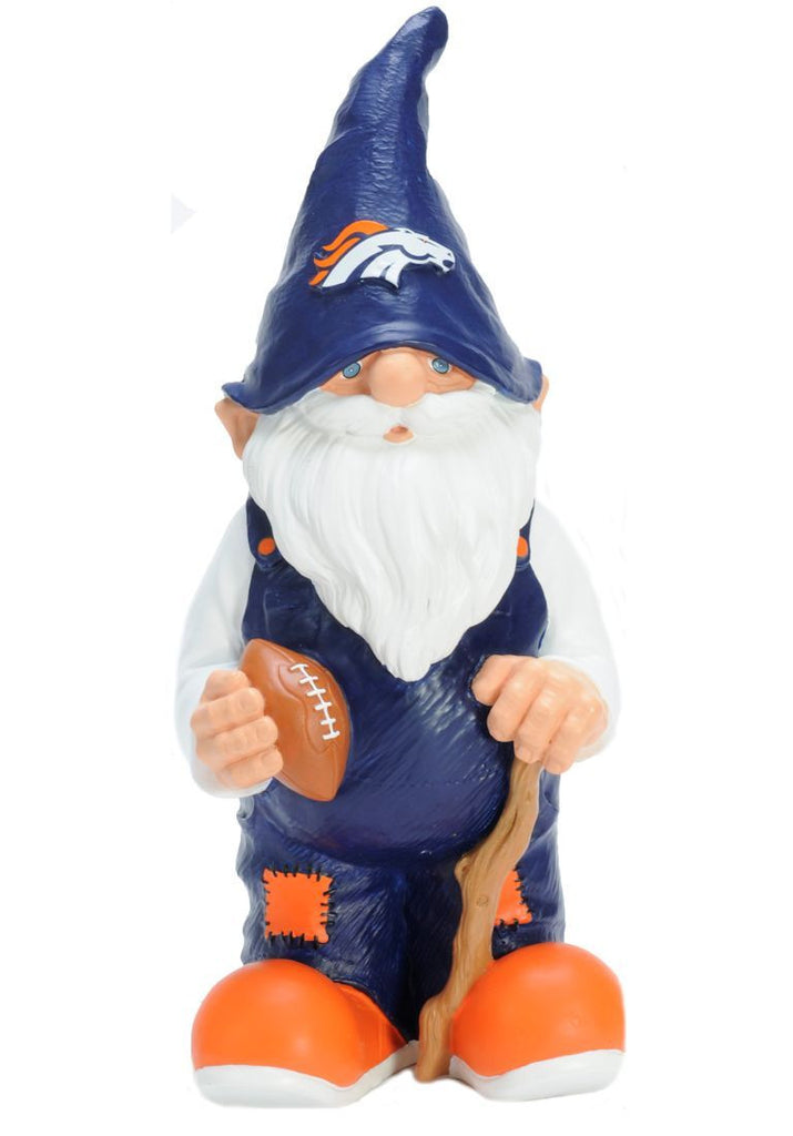 "Denver Broncos 11"" Male Garden Gnome"