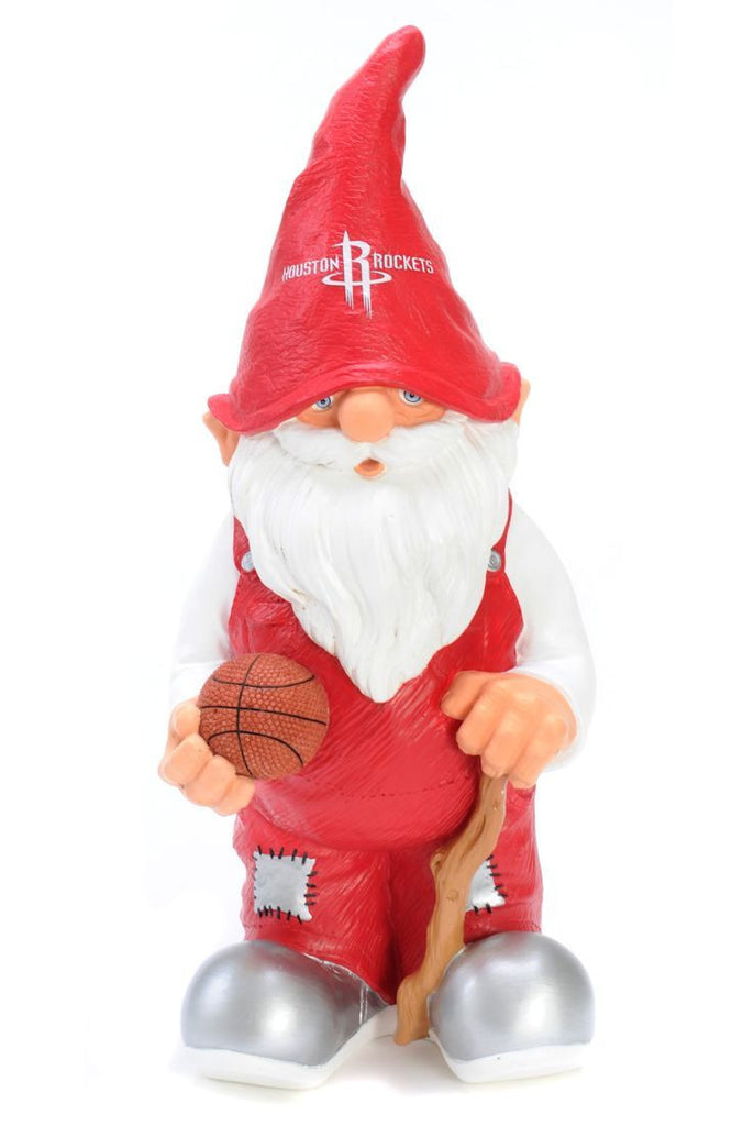 "Houston Rockets Garden Gnome - 11"" Male"