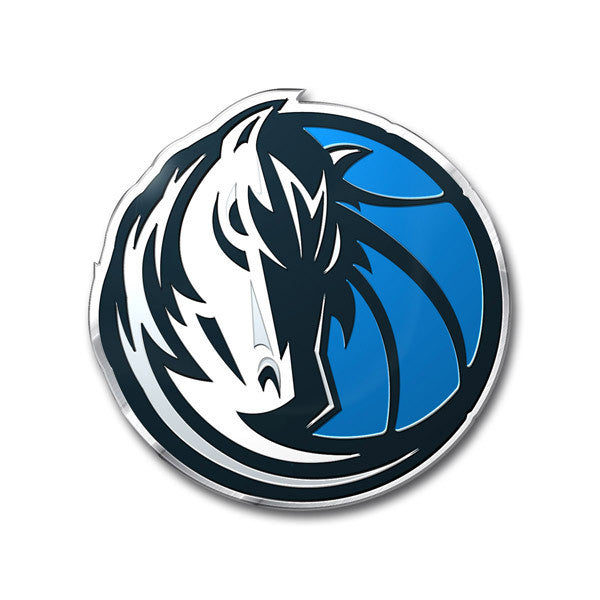 Dallas Mavericks Color Auto Emblem - Die Cut