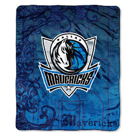 "Dallas Mavericks 46"" x 60"" Micro Raschel Throw Blanket"