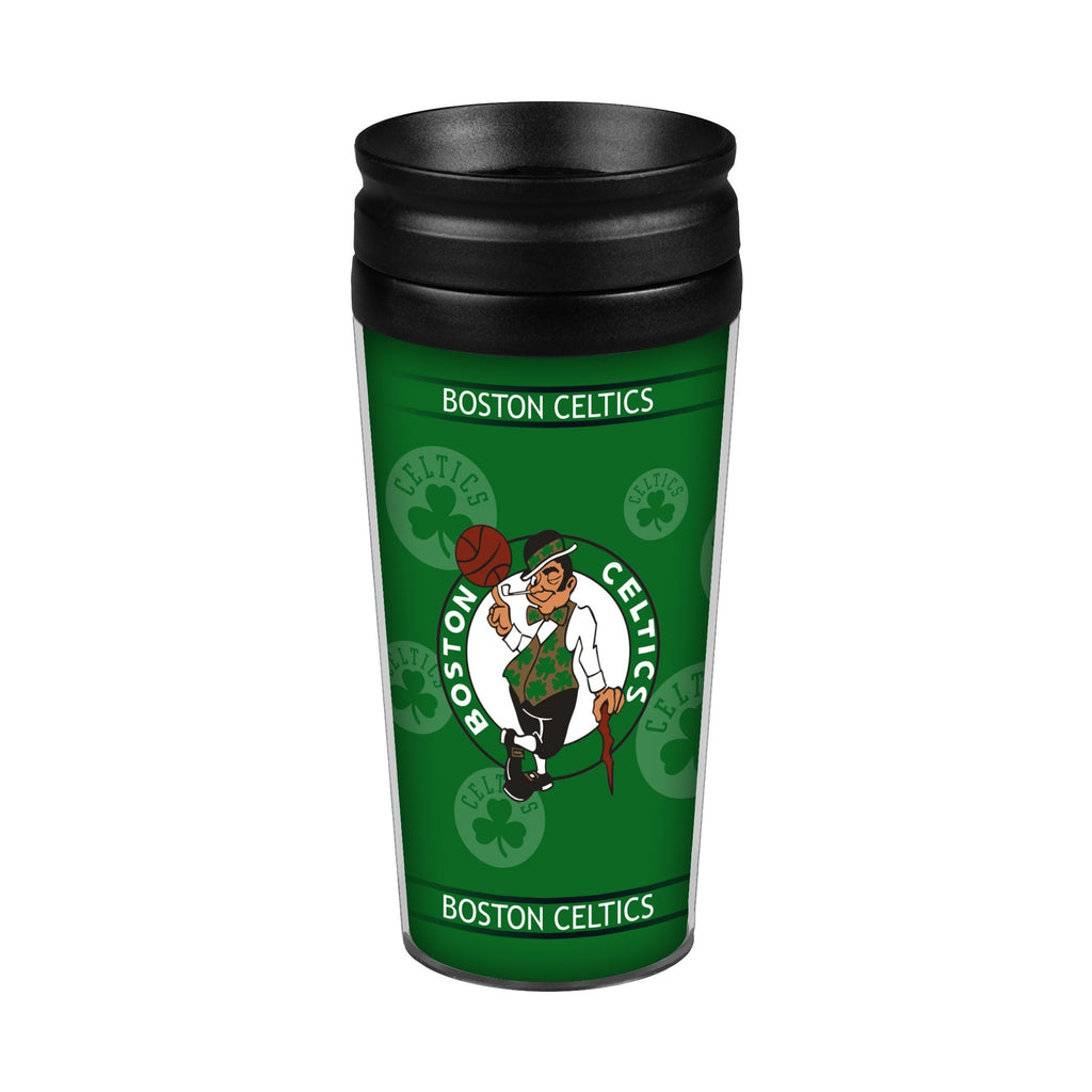 Boston Celtics 14oz. Full Wrap Travel Mug