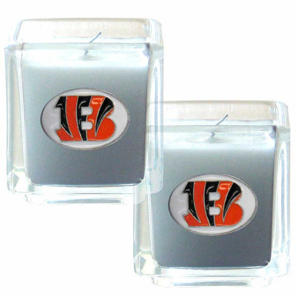 BENGALS 2PK CANDLE
