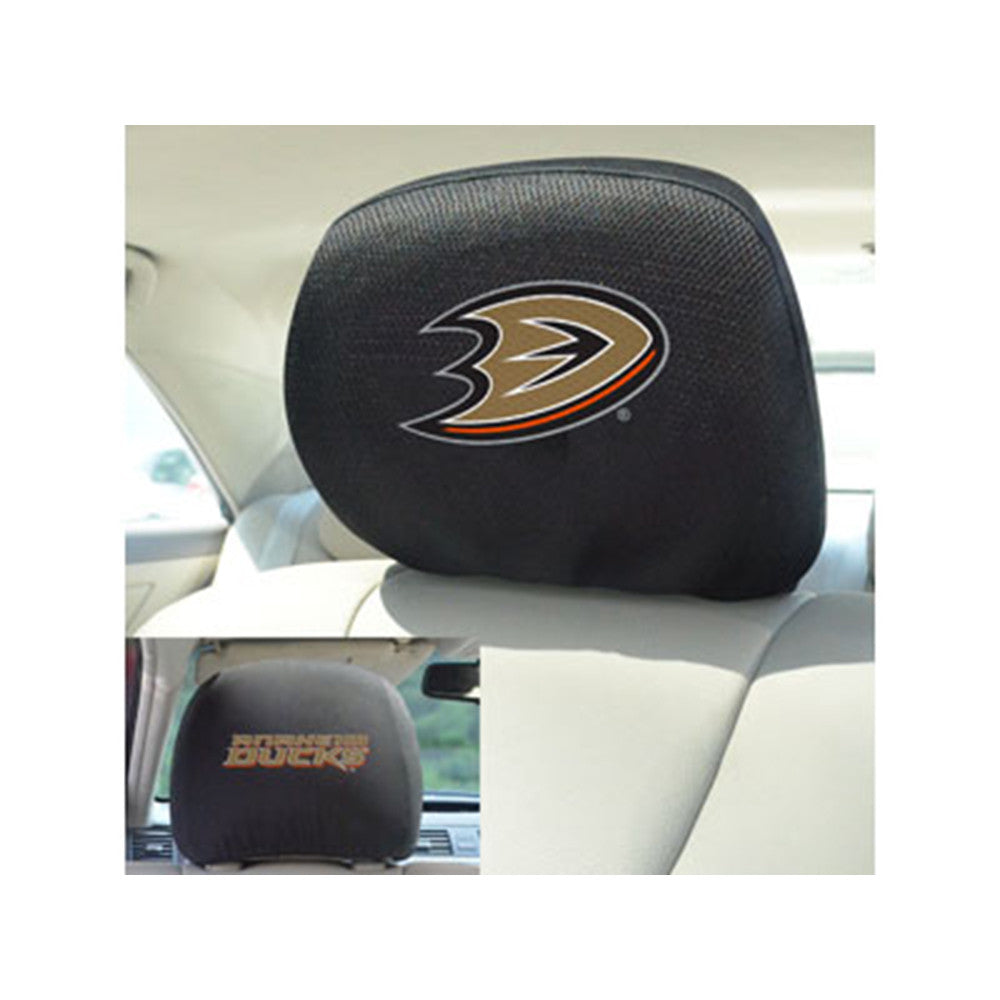 Anaheim Ducks NHL Polyester Head Rest Cover (2 Pack)